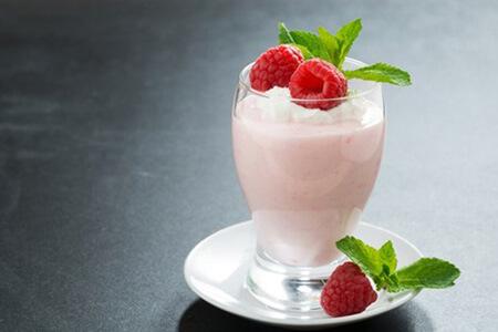 Flohsamen Frucht-Pudding