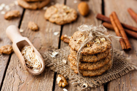 Flohsamen Kekse