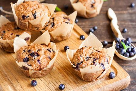 Flohsamen Muffins